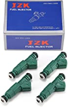 JZK Brand Fuel Injectors 4pcs/Set 0280155968-4 0280150558 0280156127 for Ford Audi BMW VW Golf Passat Jetta IV Pontiac Lotus