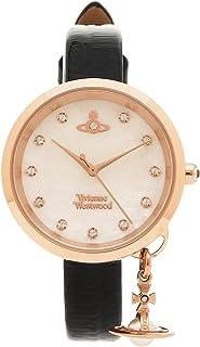 [ヴィヴィアンウエストウッド] 腕時計 レディース Vivienne Westwood VV139WHBK パール ブラック ローズゴールド [並行輸入品]