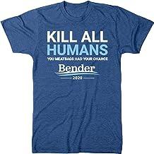 Bender 2020 Campaign Slogan Men's Modern Fit Tri-Blend T-Shirt
