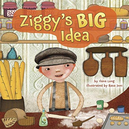 Ziggy's Big Idea copertina