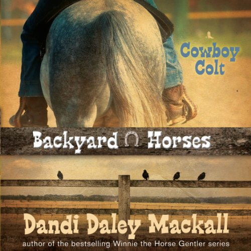 Cowboy Colt audiobook cover art