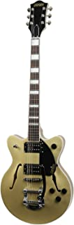 Best Gretsch Guitars G2655T Streamliner Center Block Junior Double Cutaway with Bigsby Gold Dust Review