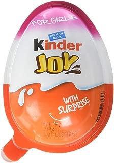 Kinder Joy With Surprise Inside - (GIRLS Display W/ 16 Units)
