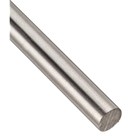 K /& S Precision Metals 87137 3//16x12 SS Rod Red