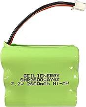 GEILIENERGY 7.2V Backup Battery for 2gig BATT1X BATT2X BATT1 GC2 2GIG-CNTRL2 2GIG-CP2 GCKIT311 Go Control Panel Security System Alarm 6MR2600AAY4Z 10-000009-001