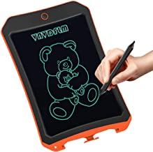 """VNVDFLM LCD Electronic Writing Tablet Toys for 4-9Year Old Boys, Teen Boy Girl Birthday Presents Gifts,8.5"""" Handwriting Paper Drawing Tablet at Home and Outdoor(Orange)"""