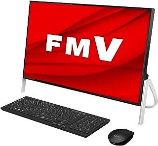 【公式】 富士通 デスクトップパソコン FMV ESPRIMO FHシリーズ WF1/E1 (Windows 10 Home/23.8型ワイド液晶/Core i3/4GBメモリ/約1TB HDD/スーパーマルチドライブ/Officeなし/ブラッ...