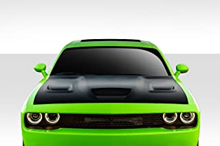 Brightt Duraflex ED-MAZ-580 Hellcat Look Hood - 1 Piece Body Kit - Compatible With Challenger 2008-2018
