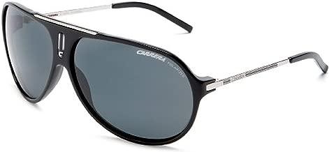 Carrera Hot/S Sunglasses Black Palladium / Gray Polarized & Cleaning Kit Bundle