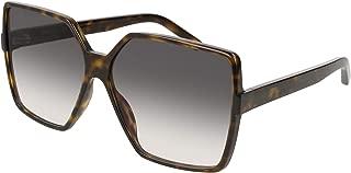 Betty SL 232 Dark Havana/Grey Shaded 63/13/135 Women Sunglasses