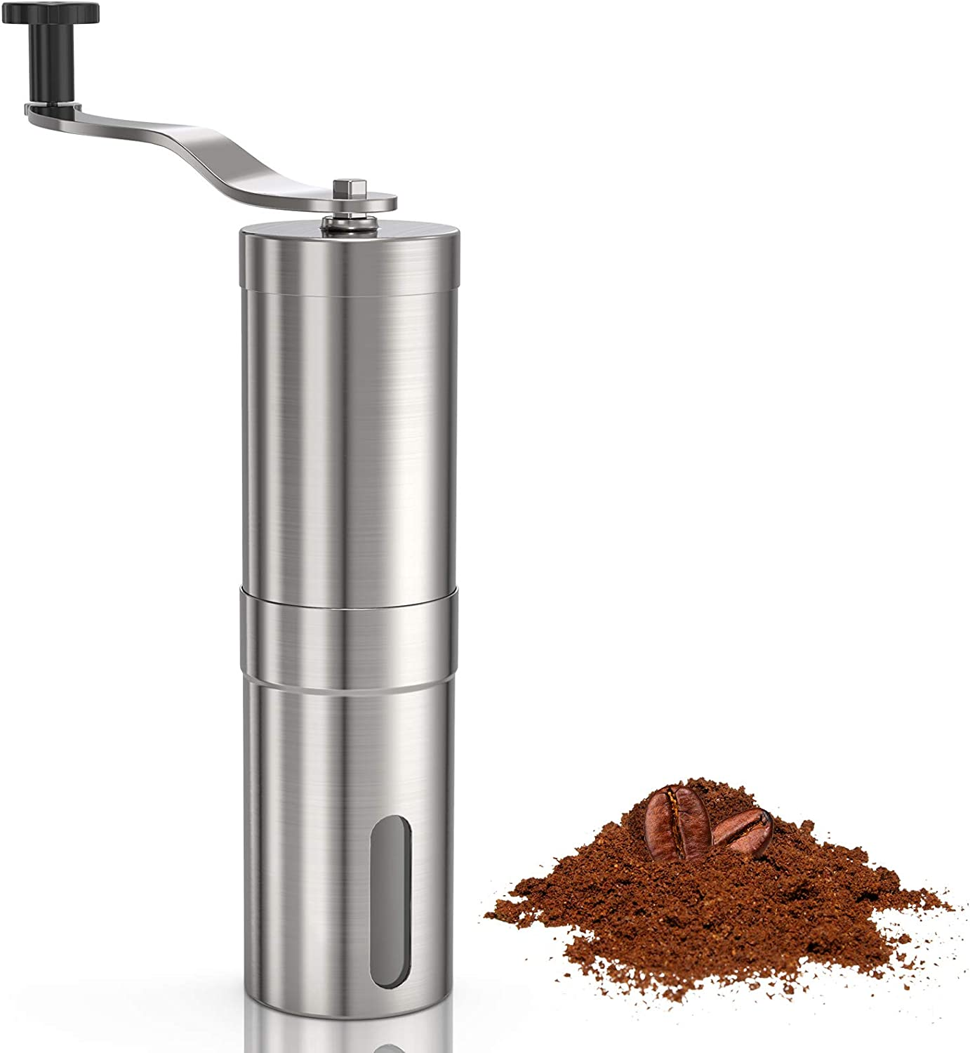 Yeaky Max 61% OFF Clearance SALE Limited time Manual Coffee Grinder Hand Burr Mill Conical Ceramic Held