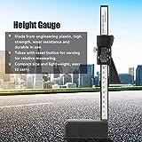 Medidor de altura profesional Medidor de altura, Calibrador de altura, Herramienta de medición de profundidad Medidor de altura digital, Industria para carpintería Hogar para sierra de mesa