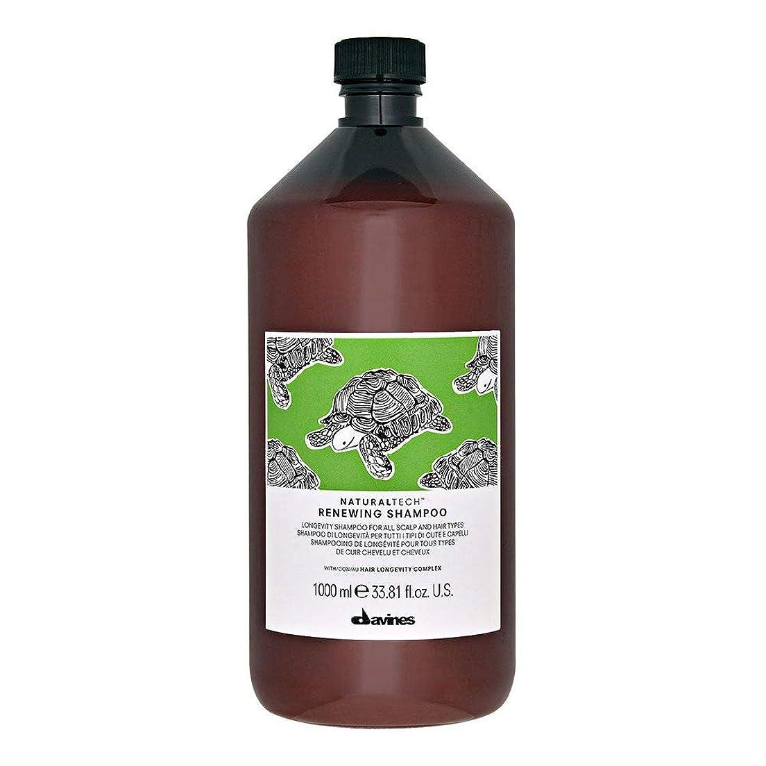 アクセサリー香ばしい分離するダヴィネス ナチュラルテック シャンプー<RN> 1000ml(サロンサイズ) [並行輸入品]