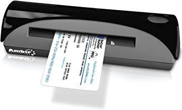 $190 » Ambir Technology PS667-AS PS667 Simplex A6 ID Card Scanner - Sheetfed scanner - 4 in x 6 in - 600 dpi x 600 dpi - USB 2.0