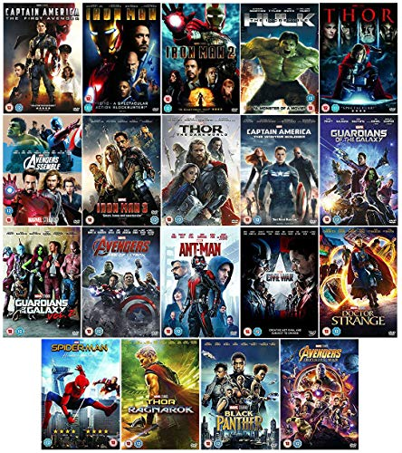 Complete Marvel Movies Collection