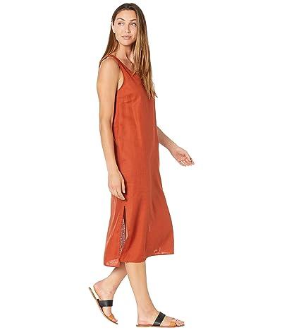 Madewell Linen-Blend V-Neck Tank Dress