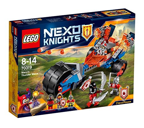 Lego Nexo Knights - Ariete demoledor de Macy, Juegos de construcción (70319)