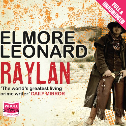 Raylan audiobook cover art