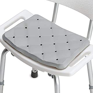 DMI Waterproof Foam Cushion for Bath Seats, Transfer Benches, Shower Chairs, Kneeling Pads and Stadium Seats, 1.3 Inches Thick