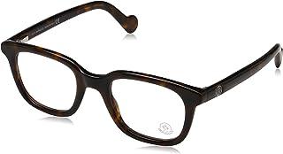 Moncler Rectangular Eyeglasses ML5003 052 Dark Havana 50mm 5003