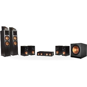 Klipsch RP-8000F 7.1.2 Dolby Atmos Home Theater System - Ebony