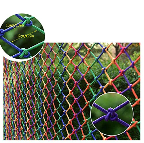 Amazing Deal WZHONG Child Safe Rail Net Indoor Balcony Stairway Safety Net Kids Pet Banister Stair N...