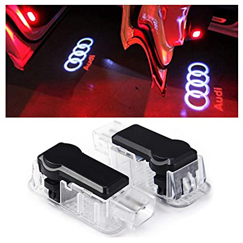 Inlink 2x LED Car Door Welcome Light Courtesy Ghost Shadow Logo Projector Lights