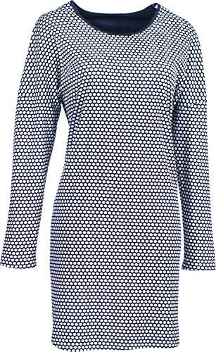 Rösch Damen-Nachthemd Interlock-Jersey Marine Größe 48