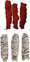 Clarity & Muse Sage Smudge Stick Kit - White Sage, Dragon's Blood Smudge Sticks - House Blessing Kit Refill Pack