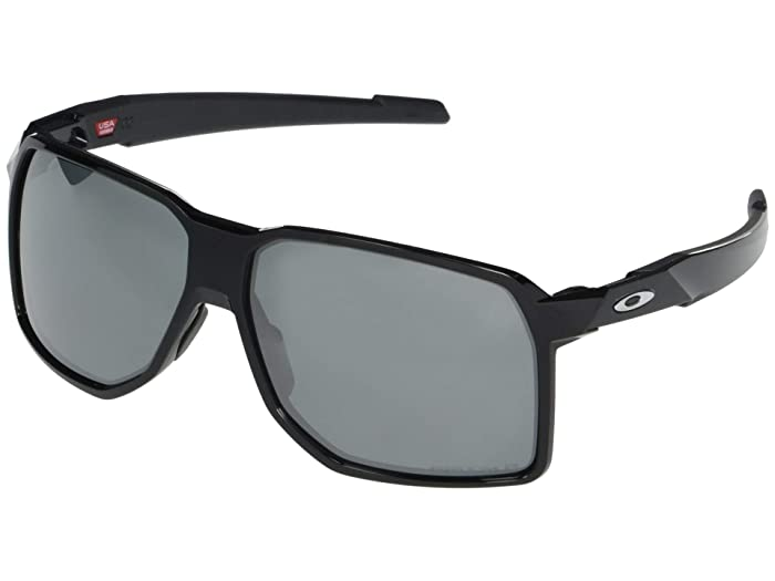 Oakley  62 mm Portal (Polished Black Frame Prizm Black Polarized Lens) Fashion Sunglasses
