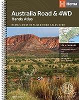 Australia Road and 4WD handy atlas B5 spiral 2018