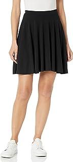 Star Vixen womens Petite Short Stretch Ponte Full Circle Skirt Skirt