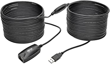 Tripp Lite 15M USB 2.0 Hi-Speed Active Extension Repeater Cable USB-A M/F 49ft (U026-15M)