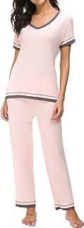 Dolay Pajama Sets Women Soft Sleepwear 2PCS Loungwear Pjs Top With Bottoms S-XXL