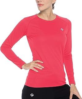 Women's UPF 50+ Sun Protection Hiking Shirts Long Sleeve Quick Dry Rashguard Athletic Running Fishing Shirts