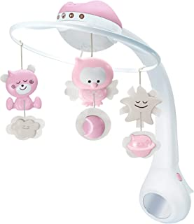 Infantino Baby 3 in 1 projector musical mobile projector|Child Sleeping Aids|Night light with music|Stroller Toys & Access...