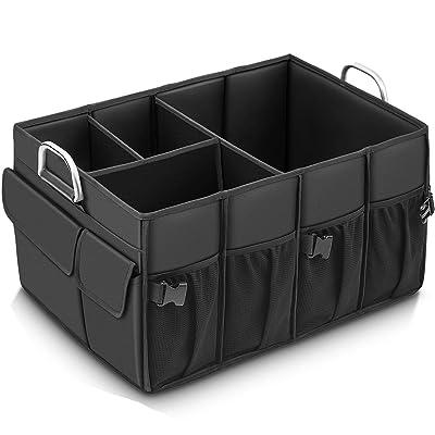 MIU COLOR Foldable Cargo Trunk Organizer Big Ca...