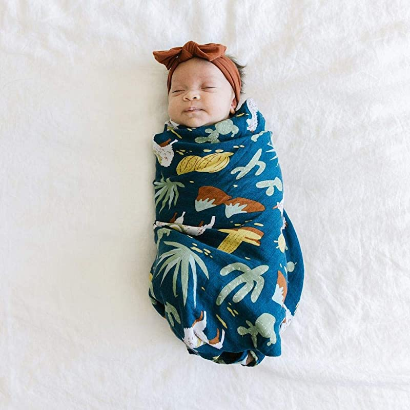 Swaddle Blanket With Chic Animal Designs Muslin Swaddle Blankets Machu Pichu