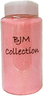 Ben Collection 1-Pound Glitter Powder Bottle Art Craft (Light Pink)
