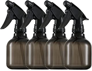 Plastic Smoke Spray Bottles - 8 Oz Empty Plastic Spray Bottle - Pack of 4 - Spray Bottle for Hair - Durable Empty Water Sp...