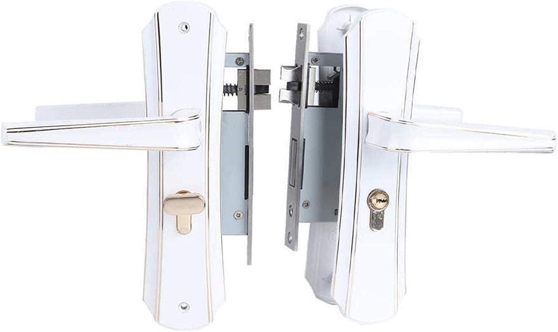 YYDFPIIA Concise Style Zinc Alloy Door Lock Home Security Anti-T