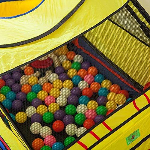 Seavishキッズテント車折り畳み式ボールプールボールハウス子供おもちゃ秘密基地室内遊具おままごと出産お祝いプレゼント収納バッグ付きメーカー1年保証