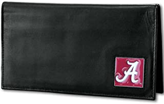 NCAA Alabama Crimson Tide Deluxe Leather Checkbook Cover