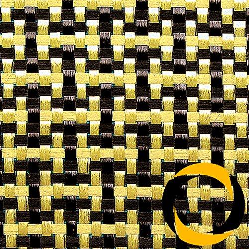 Ascending Composites Kohle-/Aramidgewebe 188 g/m² (Leinwand) 100 cm, Rolle 0,25 m