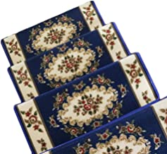 JIAJUAN Stair Carpet Treads Skid Slip Self Adhesive Removable Stairs Floor Rugs, 4 Styles, 4 Sizes, Customizable (Color : ...