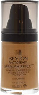 Revlon PhotoReady Airbrush Effect Foundation, 010 Caramel