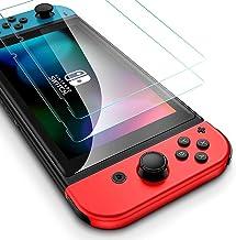 Flysee Vetro Temperato per Nintendo Switch 2019, [2 Pezzi] Pellicola Protettiva per Nintendo Switch, Facile da Installare,...