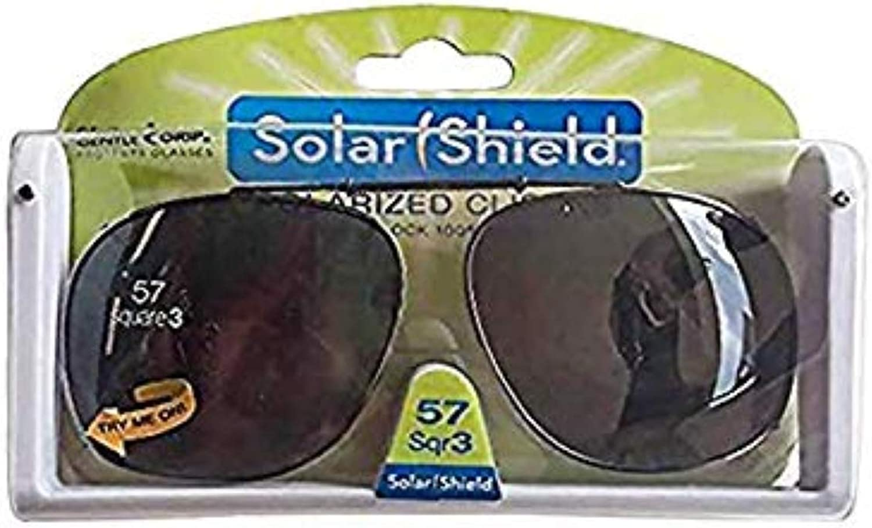 Solar Shield Polarized Clipons 57 sqr 3
