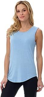 Women's Soft Jersey Knit Sleeveless Tank Top (S-XXL)