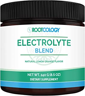 Rootcology Electrolyte Blend - Hydration Powder with Magnesium, Potassium, and Citrus Flavonoids + Vitamin C for Electroly...
